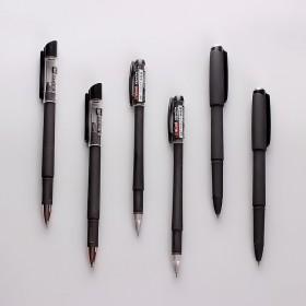 24支高档办公考试财务专用黑色碳素中性笔签字笔