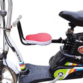电动车前置宝宝座椅儿童座椅电瓶踏板车电动自行车山地