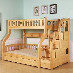 【限地区】童梦实木双层床两层上下铺床高低床子母床
