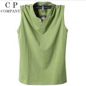 品牌特卖 100到300斤能穿纯棉无袖T恤
