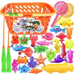磁性益智戏水捞鱼钓鱼玩具