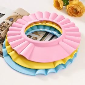 小孩婴儿宝宝洗头帽可调节防水儿童浴帽