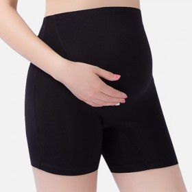 孕妇裤夏装托腹防走光裤三分打底裤薄款短裤子