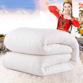 新疆长绒棉花被子 纯棉花夏凉被芯棉絮空调被