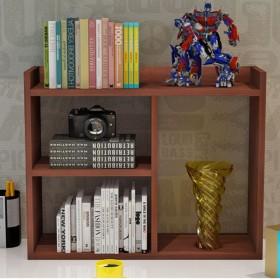 简约现代学生桌上书架简易组合儿童桌面小书架置物架办