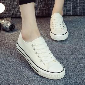 春夏新款情侣鞋男女士帆布鞋休闲板鞋韩版学生鞋