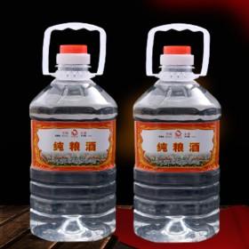 自酿东北纯粮食老酒高粱桶装散装原浆45度浓香型白酒