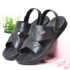 新款凉鞋男沙滩鞋夏季两用拖鞋青年懒人防滑软底