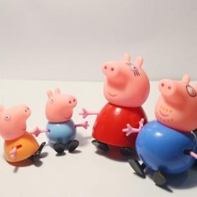 小猪佩琪四只袋装玩具