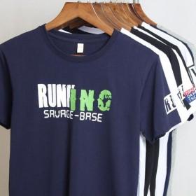 【2件装】纯棉印花短袖T恤