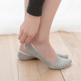 5双装隐形女船袜