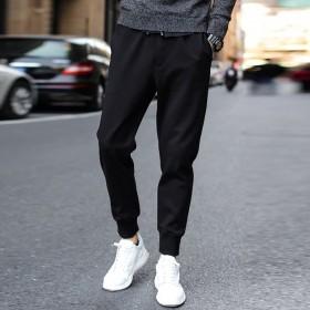 夏季男士小脚九分裤宽松大码运动裤子束脚裤