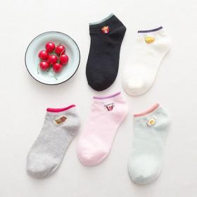 袜子女船袜女纯棉短袜春夏季款防滑低帮浅口隐形薄款