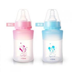 迪士尼初生婴儿硅胶奶瓶男宝宝女宝宝防胀气奶瓶