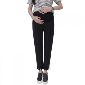 孕妇休闲裤夏季九分裤韩版孕妇托腹裤显瘦