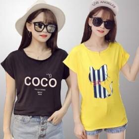 2017新款韩版夏季女装宽松上衣胖mm大版短袖t恤