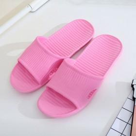 新品纯色情侣居家软底凉拖鞋 防滑地板拖浴室拖鞋