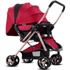 婴儿推车轻便可坐可躺伞车轻便携折叠儿童手推车四轮