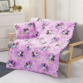 多功能抱枕被子两用折叠办公室午睡靠垫被