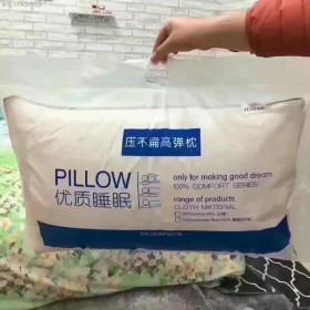 希尔顿酒店枕芯枕头一对装单人家用成人羽丝绒枕