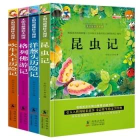 4册太阳鸟新课标大阅读儿童注音昆虫记吹牛大王历险记
