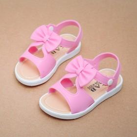 儿童宝宝凉鞋女孩中大童鞋防滑软底公主鞋子