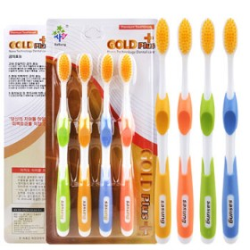 韩国纳米牙刷软毛0.01超细软毛成人牙刷家用24支