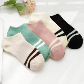 袜子女夏季短袜薄款棉袜防臭韩国船袜女短筒浅口袜隐形