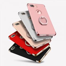 IPhone7手机壳保护套 支架手机壳创意拼接防摔