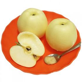 黄香蕉面苹果宝宝辅食苹果