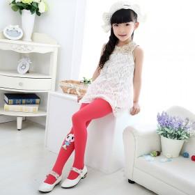三条装 儿童白色丝袜女孩打底裤宝宝糖果色舞蹈袜