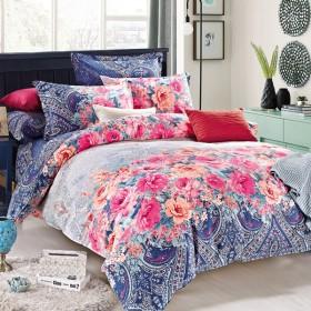 全棉被套品牌纯棉单件被罩简约1.5米1.8m床