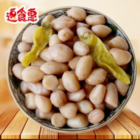 重庆特产泡椒花生小包装500g山椒花生米散装水煮休