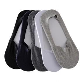 男袜船袜夏季薄款纯棉 浅口隐形袜子硅胶防滑防臭春款