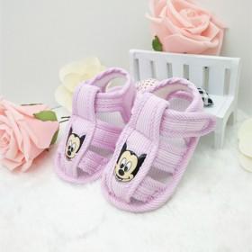 宝宝凉鞋夏儿童鞋春秋学步鞋软底防滑0-1岁婴儿鞋