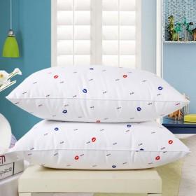 包邮 羽丝绒枕头枕芯单人装保健定型枕