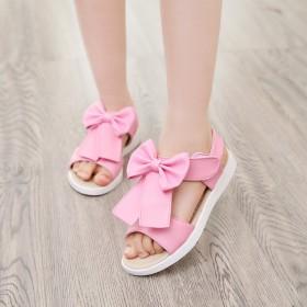 女童凉鞋夏季新款韩版公主鞋透气鞋儿童沙滩鞋软底中大