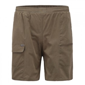 爸爸装中老年均码男士中裤五分裤子春夏季运动休闲短裤
