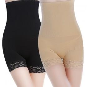 女高腰夏季薄款收腹裤收胃提臀产后塑身收复内裤平角防