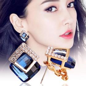 耳钉女优雅气质个性韩国时尚耳环