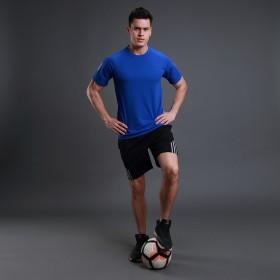 T恤短裤男士套装五分裤夏季速干舒适圆领短袖运动套装
