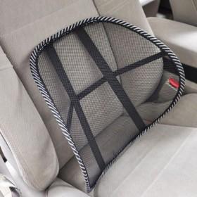 汽车腰靠座椅腰托四季车用腰枕透气护腰冰丝腰垫靠垫