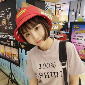 时尚韩版夏季渔夫帽盆帽