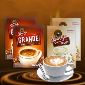 【4盒】印尼进口火船咖啡组合 白咖啡 爪哇拿铁咖啡