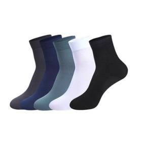 10双装男士丝袜中筒袜子