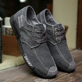 2017春夏老北京布鞋休闲男士帆布鞋