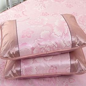夏天冰丝凉席枕套学生宿舍单人枕头套一对