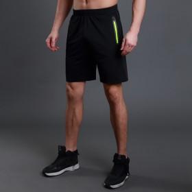 运动短裤男跑步健身男士运动裤五分裤速干透气宽松裤子
