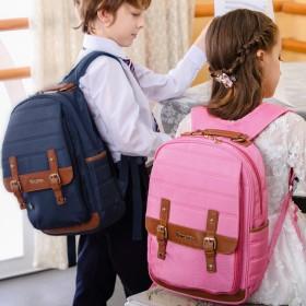 南极人品牌  书包小学生女男6-12周岁减负护脊