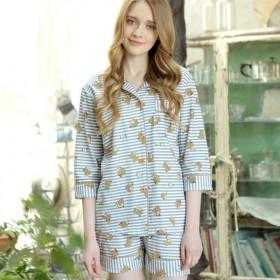 春夏季睡衣女士纯棉